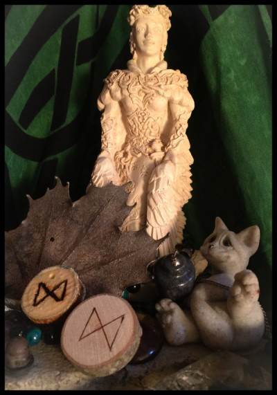Freya Shrine with Runes